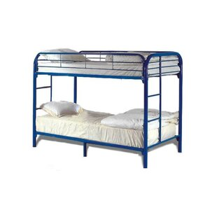 Swanson Elegant Metal Based Twin over Twin Standard Bed by Harriet Bee