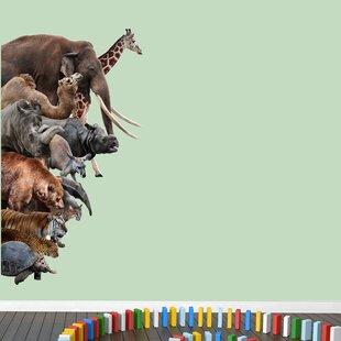 Jungle Safari Wall Decals Youll Love Wayfair - Zoo animal wall decals