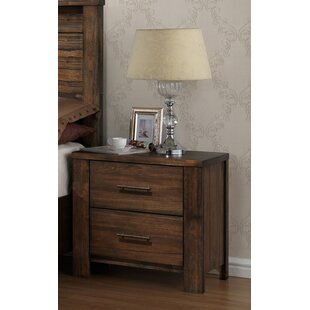 Rooker 2 Drawer Nightstand