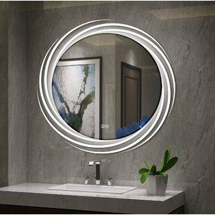 Comparison Bode Back Lit LED Daylight Bathroom Mirror ByOrren Ellis