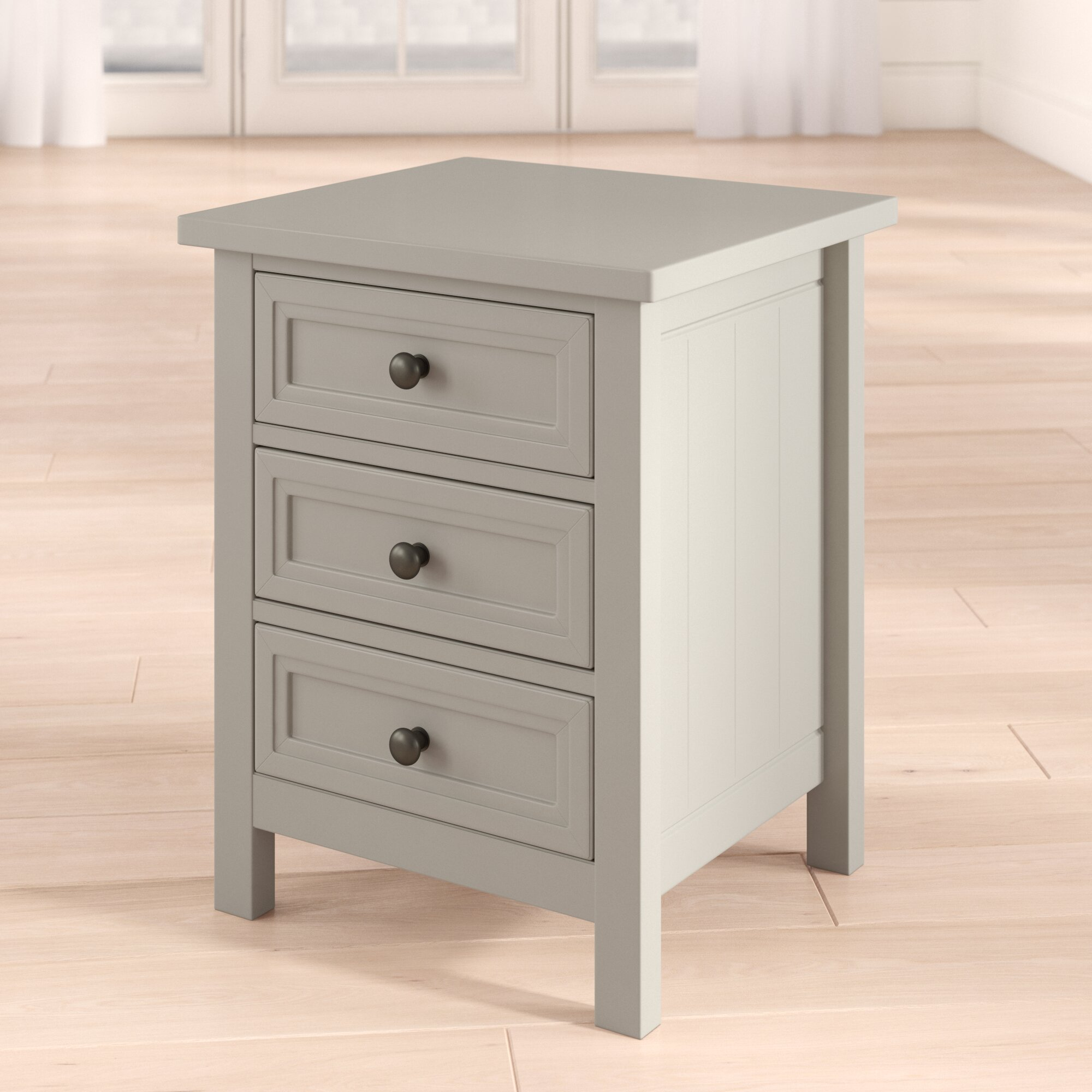new arrivals 49503 cb4df Trident 3 Drawer Bedside Table