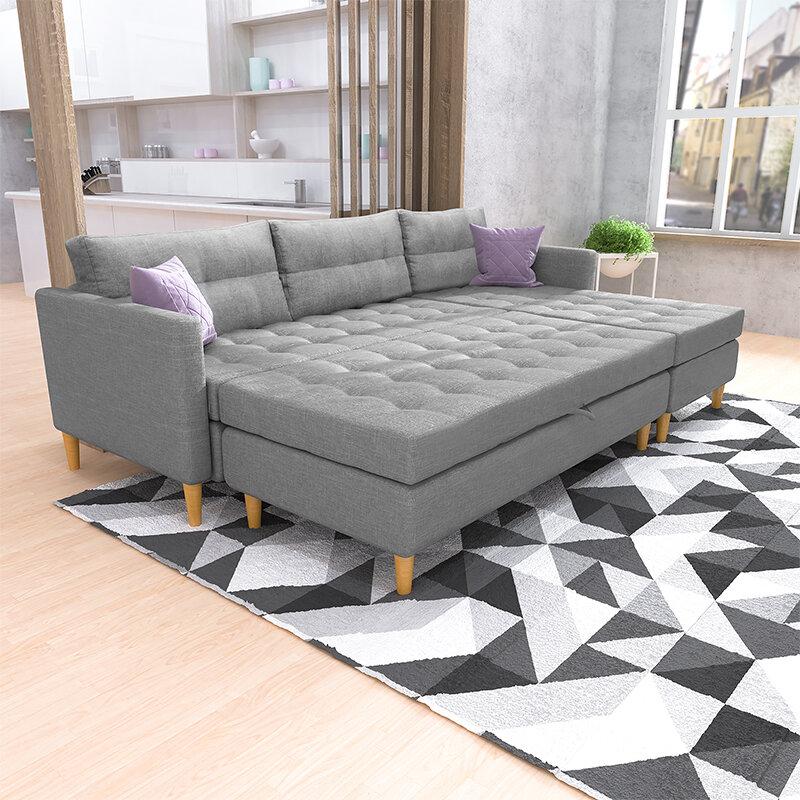 selsey living copenhagen reversible modular corner sofa reviews wayfaircouk - Corner Sofa Bed