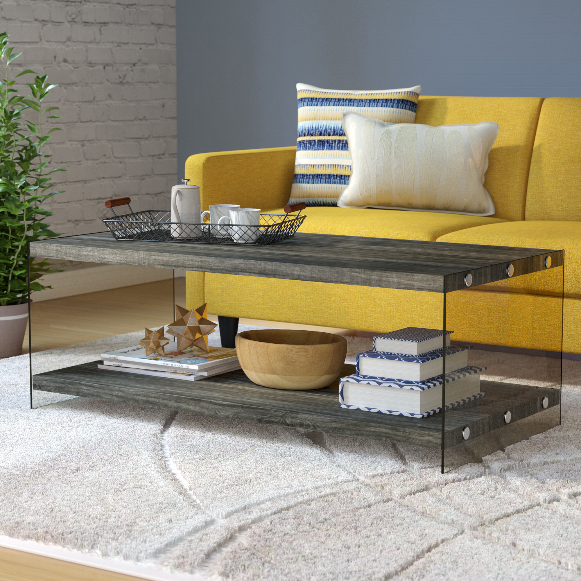 Mercury Row Timon Modern Coffee Table & Reviews