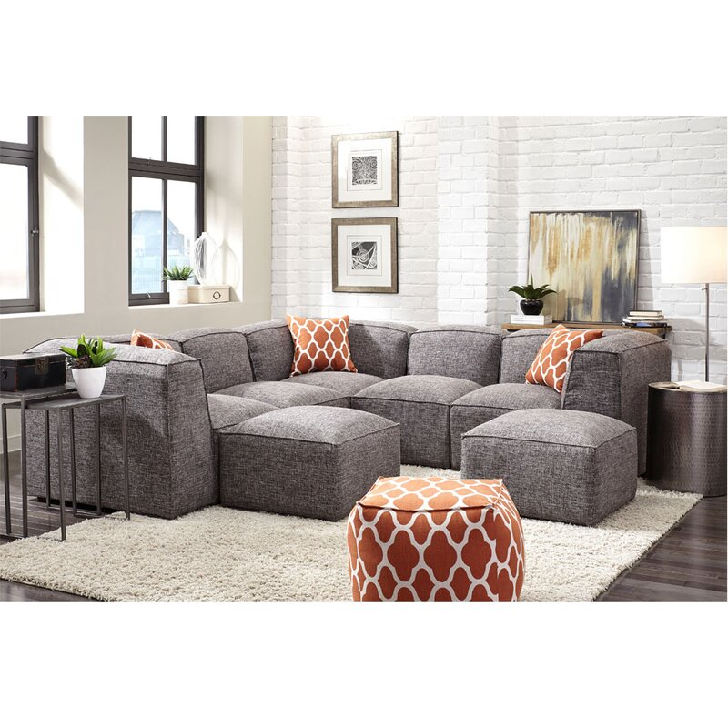 Ernest Modular Sectional  sc 1 st  Wayfair : modular sofa sectional - Sectionals, Sofas & Couches