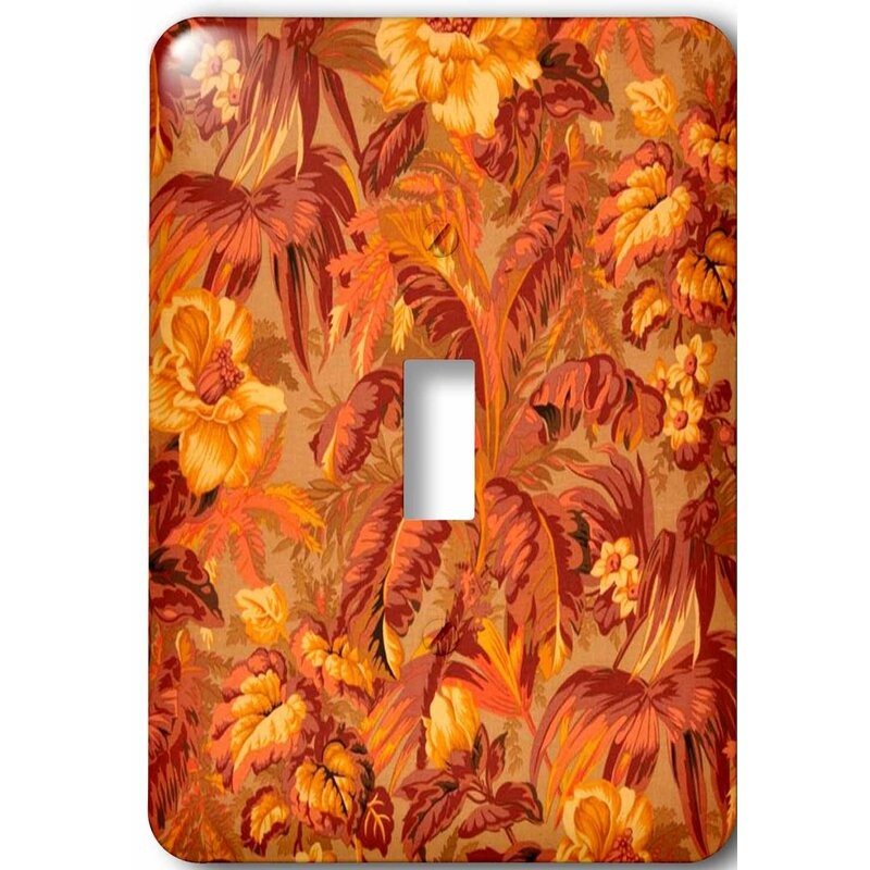 3drose Tropical Fall 1 Gang Toggle Light Switch Wall Plate Wayfair