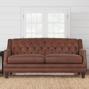 Derbyshire Leather Sofa