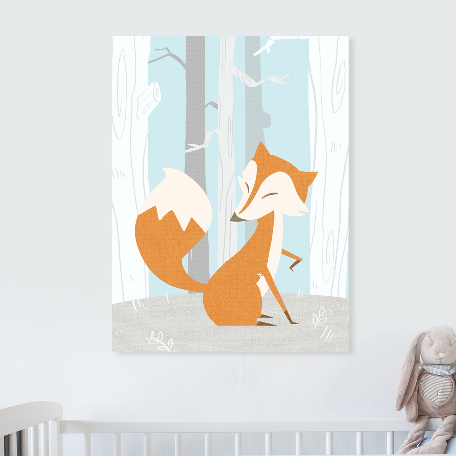 Isabelle Max Heswall Fox And Winter Canvas Art Wayfair