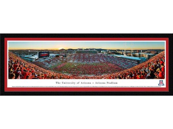 Blakewaypanoramas Ncaa Arizona University Of By James Blakeway Framed Photographic Print Wayfair