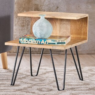 Budget Savner Wood Coffee Table with Tray Top By Union Rustic