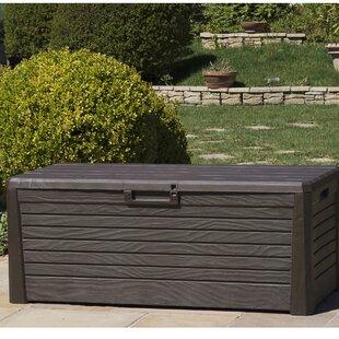 Ordinaire Wood Effect Garden 550L Plastic Storage Box