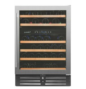 46 Bottle Professional Series Dual Zone Convertible Wine Cooler by Smith & Hanks