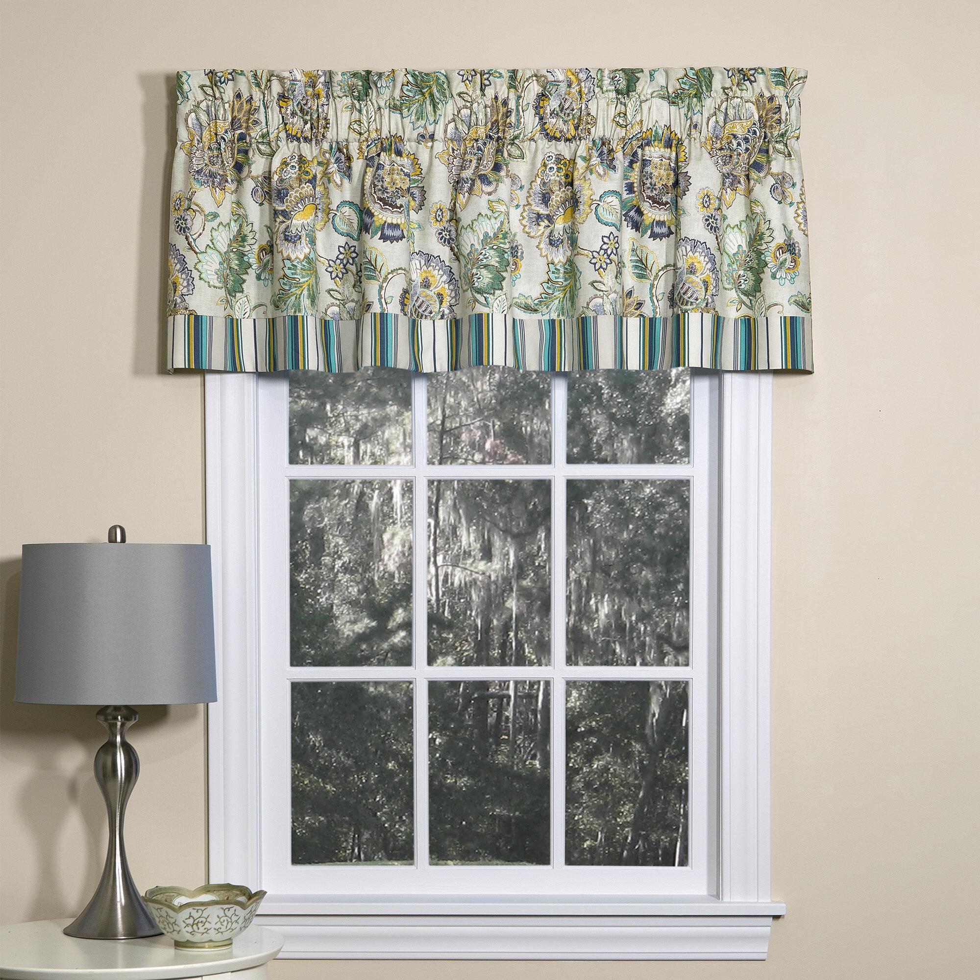 Sherrer Lined Tailored 52 Window Valance