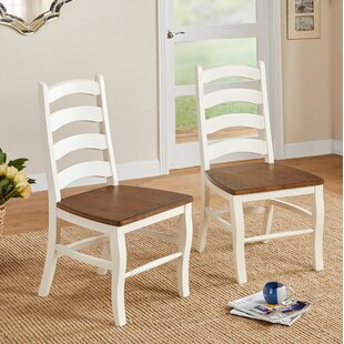 Mack Solid Wood Dining Chair (Set of 2) Ophelia & Co.