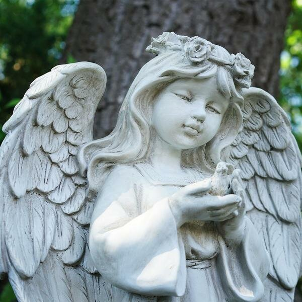 products weather angels wind htm statues saints angel garden