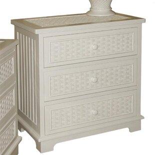 Find Eisley 3 Drawer Dresser by Highland Dunes