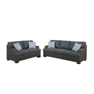 Sapp 2 Piece Living Room Set