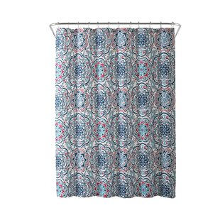 Ostler Medallion Print Single Shower Curtain