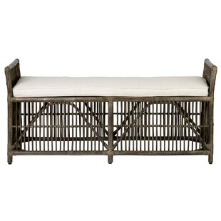 Crichton Woven Bench by Bayou Breeze