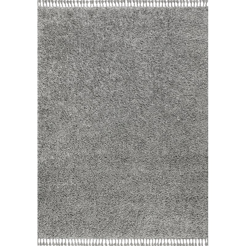 Ebern Designs Felicdad Power Loom Gray Rug Wayfair