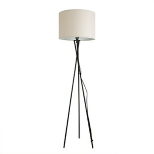 Ivorycream floor lamps wayfair camden 135cm tripod floor lamp aloadofball Images