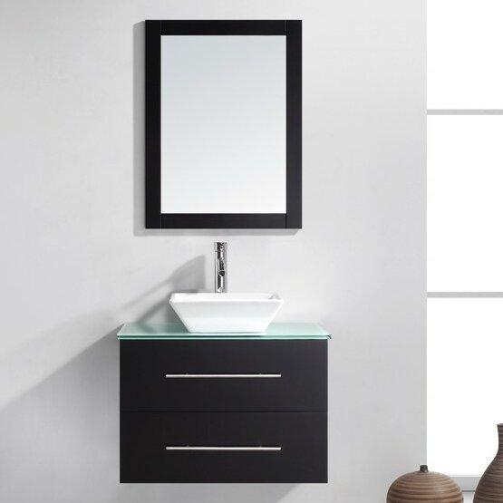 Glass Top Bathroom Vanity | Wayfair