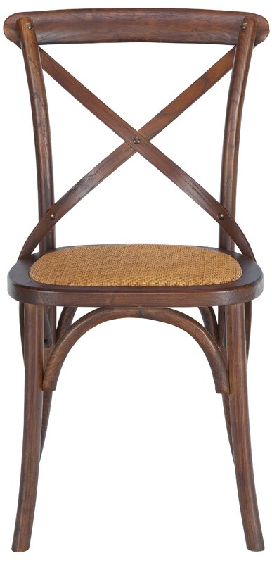 Hyacinthe Crossback Solid Wood Dining Chair Set