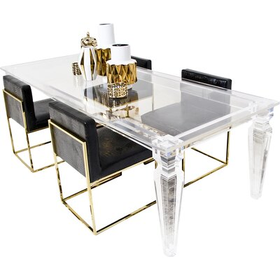 Lucite Palm Beach Dining Table