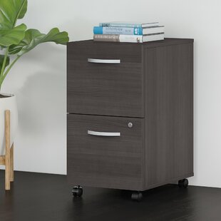 Studio C 2-Drawer Mobile Vertical Filing Cabinet