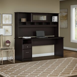Hillsdale Writing Desk With Hutch by Red Barrel Studio Great price