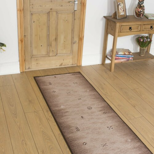 Barrington Looped Brown Indoor/Outdoor Rug ClassicLiving