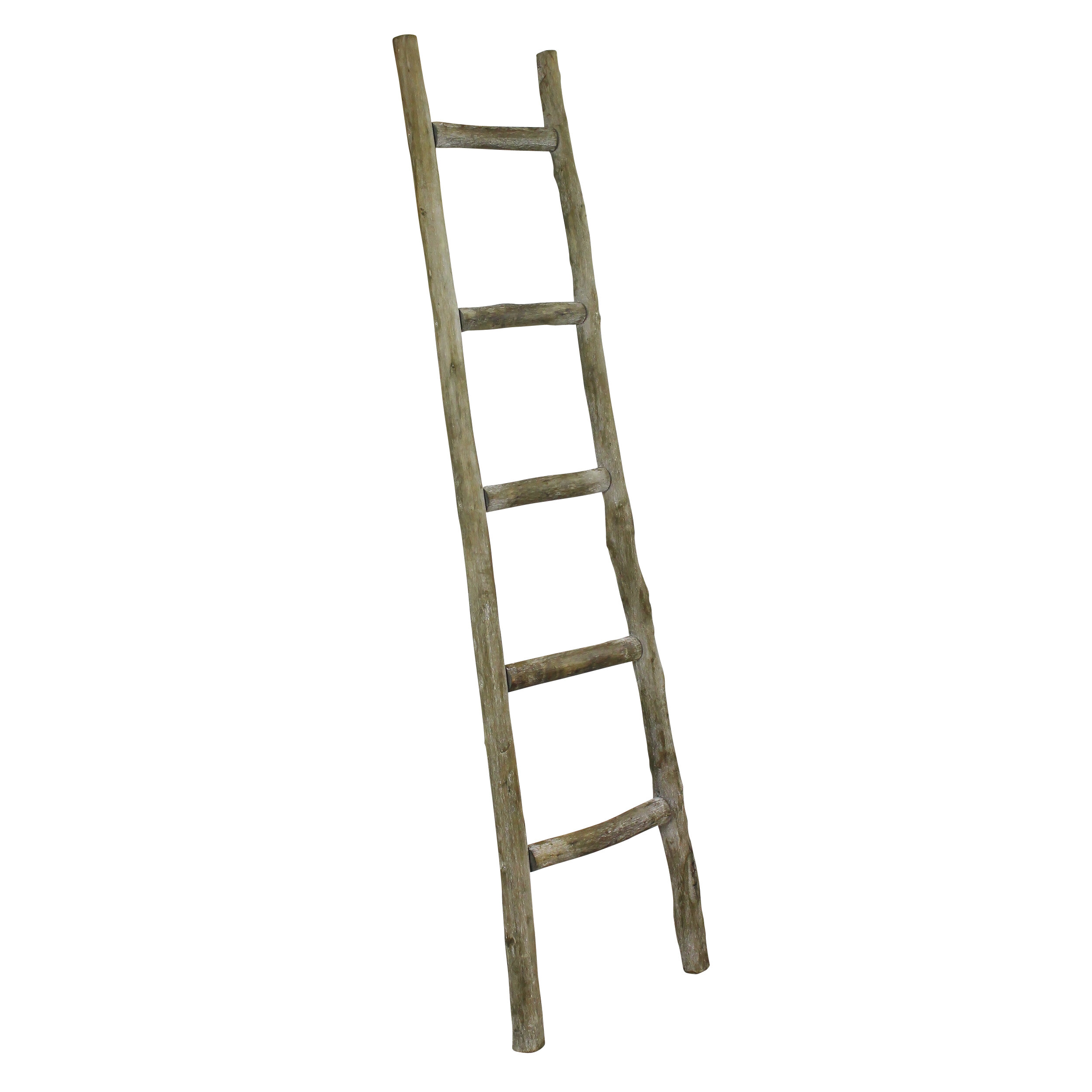 FREE SHIPPING Rustic Wood 4 ft Blanket Ladder