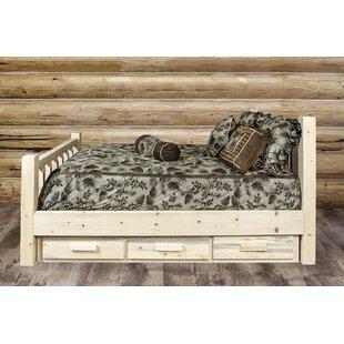 Katlyn Wood Storage Bed by Mistana