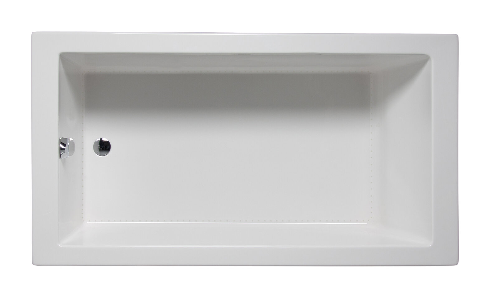 Americh Wright 66 X 32 Drop In Undermount Soaking Bathtub Wayfair