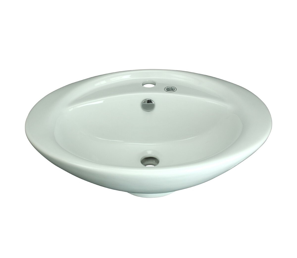 Dolphin Vessel Sink DRAIN INCLUDED Blue Tempered Glass Easy Clean And Countertop Install Stain Proof Authentic Renovators Supply IGC 172-2005 CSA B45.0-02 CSA B45.11-04 Certified