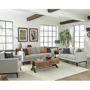 Top Tyndall 3 Piece Living Room Set by Gracie Oaks Reviews (2019) & Buyer's Guide