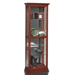 Todd Lighted Curio Cabinet by Darby Home Co