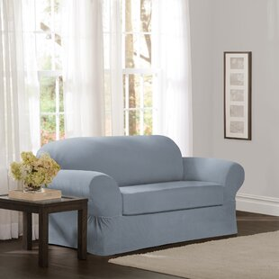 Separate Seat Box Cushion Loveseat Slipcover