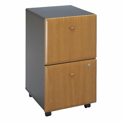 Bush Business Furniture Series A 2 Drawer Vertical File Cabinet Finish: Natural Cherry  (assembled)