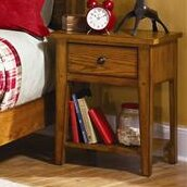 Grandpas Cabin 1 Drawer Night Stand by Millwood Pines