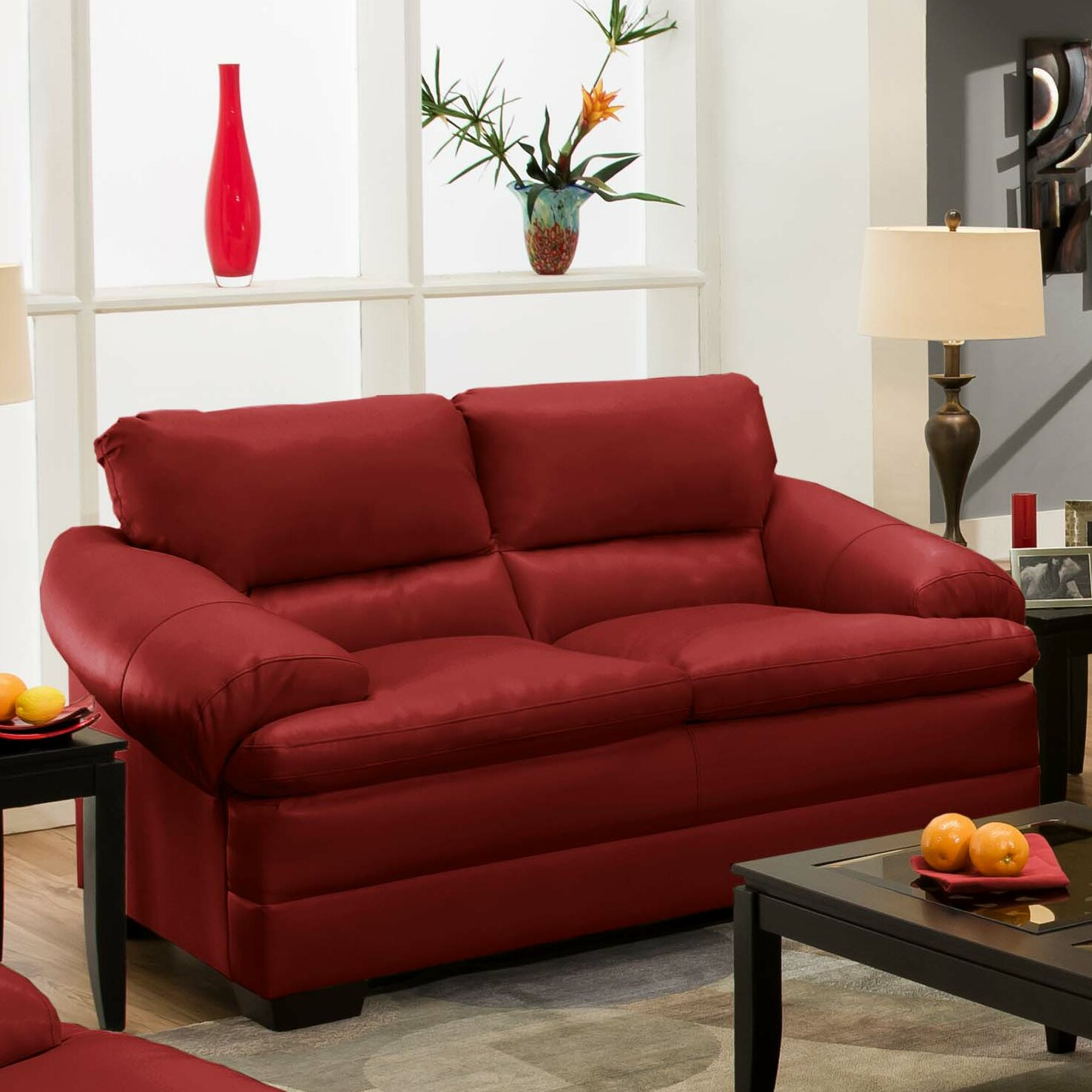 Red barrel studio simmons upholstery reynolds loveseat reviews wayfair