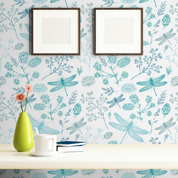 Eila Animal Removable Peel And Stick Wallpaper Panel