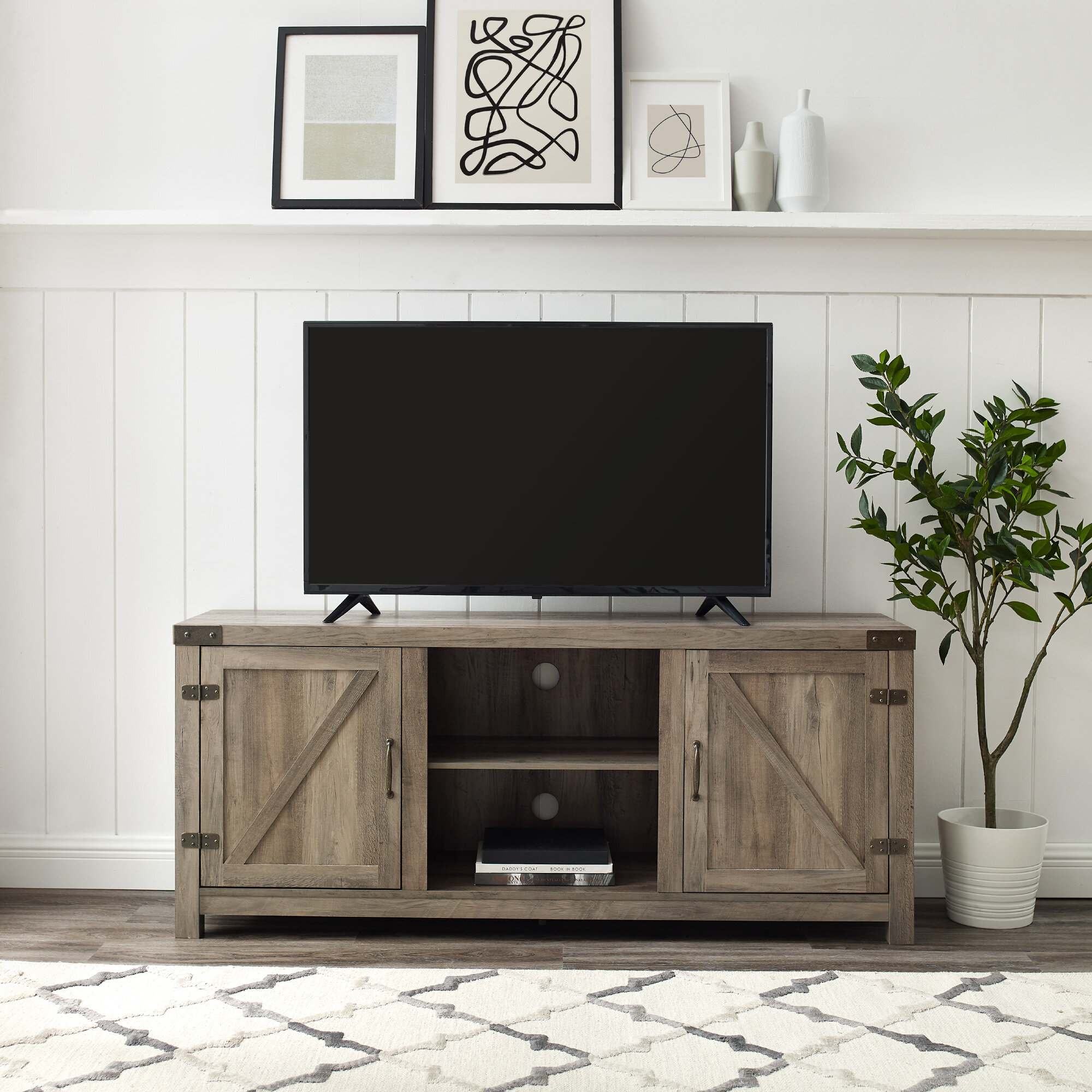 Trent Austin Design Adalberto Tv Stand For Tvs Up To 65 Reviews Wayfair