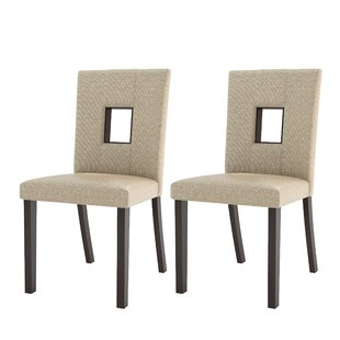 Shop for Burgess Parsons Dining Chair (Set of 2) by Red Barrel Studio Reviews (2019) & Buyer's Guide