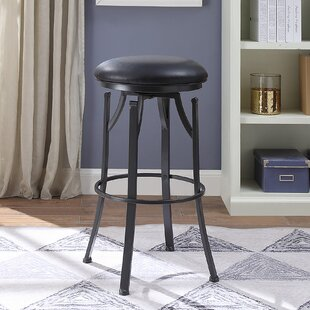 Chused Bar & Counter Swivel Stool by Orren Ellis
