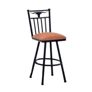 Ruben 34 Swivel Bar Stool Millwood Pines