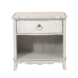 Mauricio 1 Drawer Nightstand by Ophelia & Co.