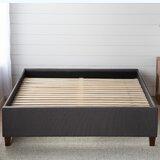 Hateya Upholstered Low Profile Platform Bed Base by Winston Porter