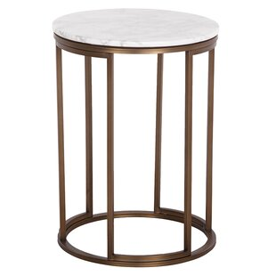 Porter Marble End Table by Control Brand