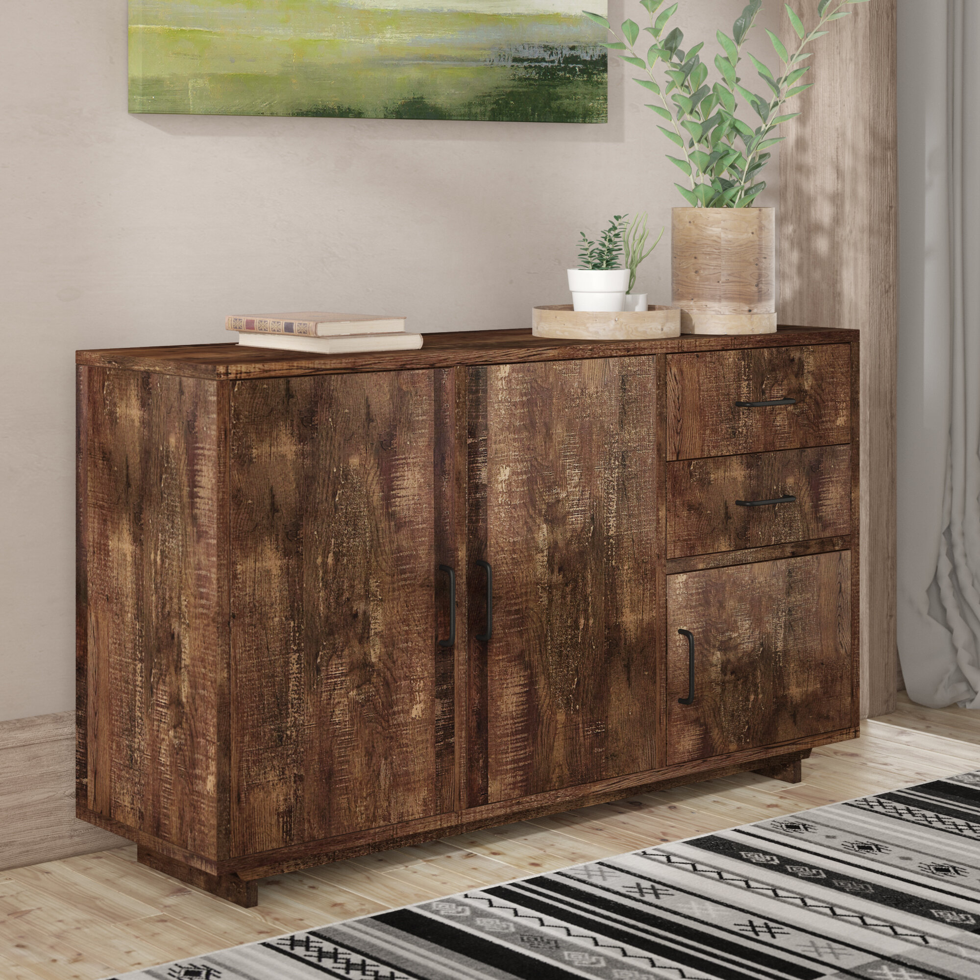 Sideboard Credenza Union Rustic Sideboards Buffets You Ll Love In 2021 Wayfair