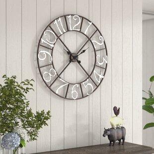 30 inch wall clock 30 In Wall Clock   Wayfair 30 inch wall clock